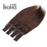 100% Remy Hair 18 Polegadas fita preta natural na extensão de cabelo humano
