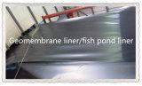 HDPE impermeable Geomembrane de la membrana de la fuente de Maunfaturer para el trazador de líneas de la charca de pescados
