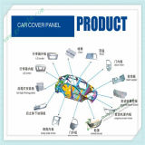 Cnc-Autoteil-Plastikformteil, Auto-Zubehör-Plastikspritzen