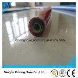 Fil d'acier tressé excédent haute pression hydraulique du flexible de PU