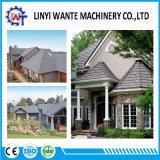 Tipo de madera plana impermeabilización de cubiertas metálicas recubiertas de azulejos de techo de piedra