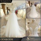 Новый дизайн пользовательских Китай Гуанчжоу свадебные платья