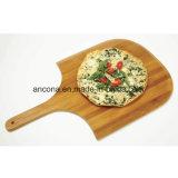 ハンドルを持つ安いタケ円形ピザまな板