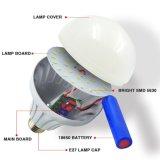 Nuevo Diseño USB de 9W LED recargable lámpara de emergencia