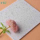 Lastra bianca poco costosa della pietra del quarzo della scintilla