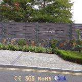 De openlucht Comités van de Omheining van het Weefsel WPC van de Tuin van de Installatie van het Aluminium Gemakkelijke voor Verkoop