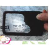 Loupe par la carte de crédit de agrandissement allumée par DEL Pocket Hw-212PA de carte du relevé