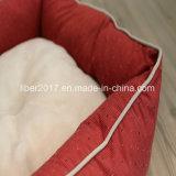 Accessoires mous rouges de produit d'animal familier de bâti d'animal familier de chat de crabot de grand dos de coton