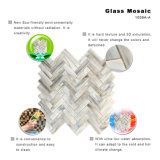 De Italiaanse Tegel van het Mozaïek van het Gebrandschilderd glas van de Kunst Ontwerp Gesmolten voor Verkoop