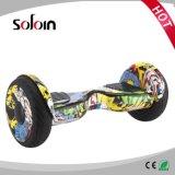 2 wiel Elektrische Autoped/Hoverboard van het Saldo van de Tribune van 10 Duim de omhoog Zelf (sze10h-2)