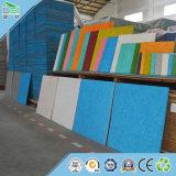 Panneau de mur de copeaux de bois de matériels acoustiques