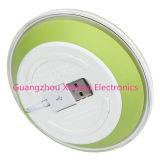 Беспроводной зарядки Qi-Enabled панель с складной кабель для зарядки внутри Wilress зарядное устройство зеленый