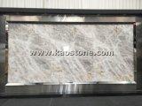 Pulido Natural Cristal Blanco/mármol ónix losa de piso/pared