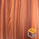 Papel impregnado melamina decorativa de madera del grano del arce para los muebles, la puerta y el suelo del fabricante chino