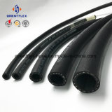 Flexibler hybrider flacher Luft-Schlauch des Luftverdichter-Schlauch-Rubber/PVC
