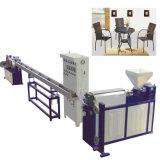 Espulsore di plastica di funzionamento 220/380 vite facile di tensione della singola per la tessitura del rattan