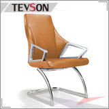제조자 PU 활 발을%s 가진 가죽 방석 방문자 사무실 의자