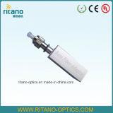 Adaptador desencapado FC da fibra óptica simples da manutenção programada complacente com o RoHS em 0.15dB de pequenas perdas