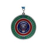 Médaille de la Chine tasses de l'artisanat en alliage de zinc Médaille Glitter de souvenirs