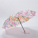 Букет из роз популярных дешевой женской Shedrain Автоматическое складывание зонтик
