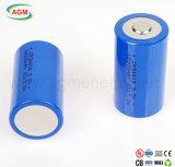 Baterias cilíndricas de Cr34615 3.0V 12000mAh Rechargerable