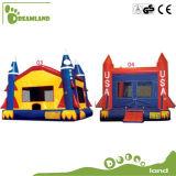 Огромный практический надувной замок Bouncer для детей