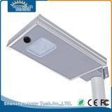 12W en una sola calle LED solar integrada en el exterior de la luz de carretera