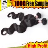 人間の毛髪の拡張オンラインマレーシアの組みひもの毛