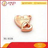 Настраиваемые в форме сердечка закрывается Gold металлические очарование браслет для принятия решений