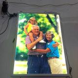 LED 메뉴 전시 알루미늄 스냅 가벼운 상자
