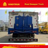 Dongfeng 4X2の軽い道掃除人のトラックのクリーニングの通り