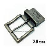 Alliage de zinc métal de haute qualité réversible broche boucle la boucle de ceinture pour les courroies de chaussures du vêtement Robe de sacs à main (XWS-ZD301--ZD439)
