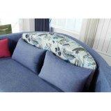 Projeto redondo moderno da base do sofá