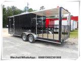 信頼できる価格の販売の移動式ハンバーガーのカートの食糧配達トレーラー