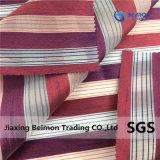 Непосредственно на заводе Organza Yarn-Dyed Полоска ткани