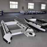 Bateau à grande vitesse gonflable de bateau de sport de Liya avec la conformité de la CE