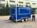 2017 베스트셀러 음식 손수레 트레일러 체더링 트럭