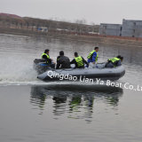 Liya 2m-6.5m Rettungs-aufblasbares Boot mit feuerfestem kugelsicherem Material