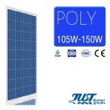 130 W de alta calidad Poli Panel solar para electricidad verde