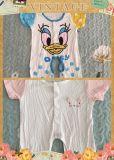 Camiseta sin mangas de ropa de bebé de tamaño personalizado bebé romper