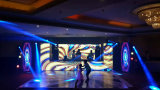 Media Indoor LED Wall Wall P2.5 P3 P4 P5 P6, P7.62, P10 pour Publicité locative