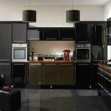 Alta cabina de cocina brillante ULTRAVIOLETA moderna de la muestra K13-1