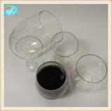 12oz verre de vin en vrac en plastique rouge coupelle en plastique