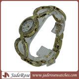 Form-Quarz-Uhr-Frauen-Dame-Armband-Uhr-beiläufiger Taktgeber-weibliches Kleid-Geschenk