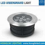 Iluminação da paisagem 3W DC24V luz subterrânea LED IP65