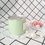 Candela della cera della soia sentita stagno per la decorazione domestica