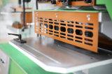 De hydraulische Stempel en Scherende Machine Q35y-40 van het Gat van de Arbeider van het Ijzer