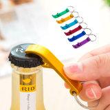 Fördernde kundenspezifische Keychain Metallöffner-Schlüsselring-Firmenzeichen Keychains Bierflasche-Wein-Öffner