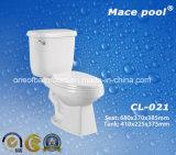 결박 (CL-021)를 가진 목욕탕 수세식 변소 2 조각 화장실