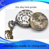 Smerigliatrice a forma di in lega di zinco creativa dell'erba della vigilanza Pocket